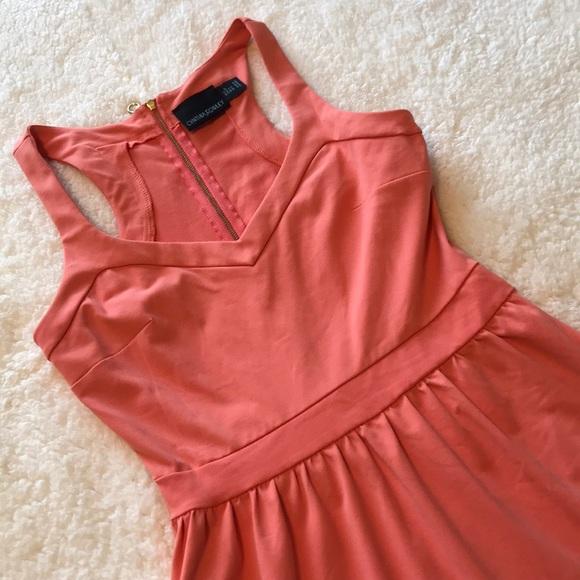 Cynthia Rowley Dresses & Skirts - Cynthia Rowley   Racerback Coral Dress - Size S
